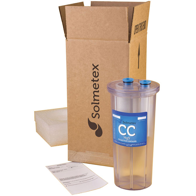 Ultimate Dental | Solmetex Hg5 Collection Container with Recycle Kit